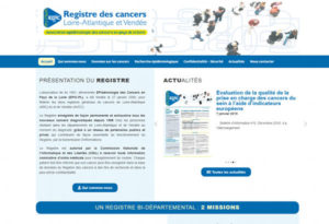 Site Internet Wordpress Registre Cancers 44 85