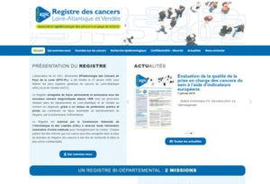 Site Internet Wordpress Registre Cancers 44 85