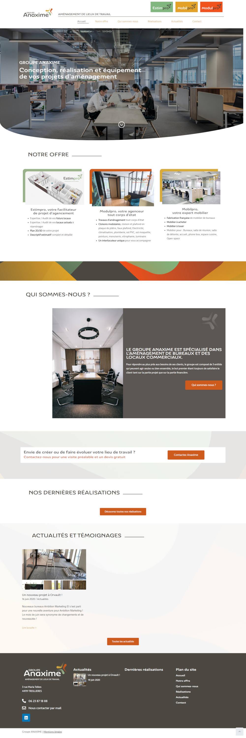 Agence web Treillieres