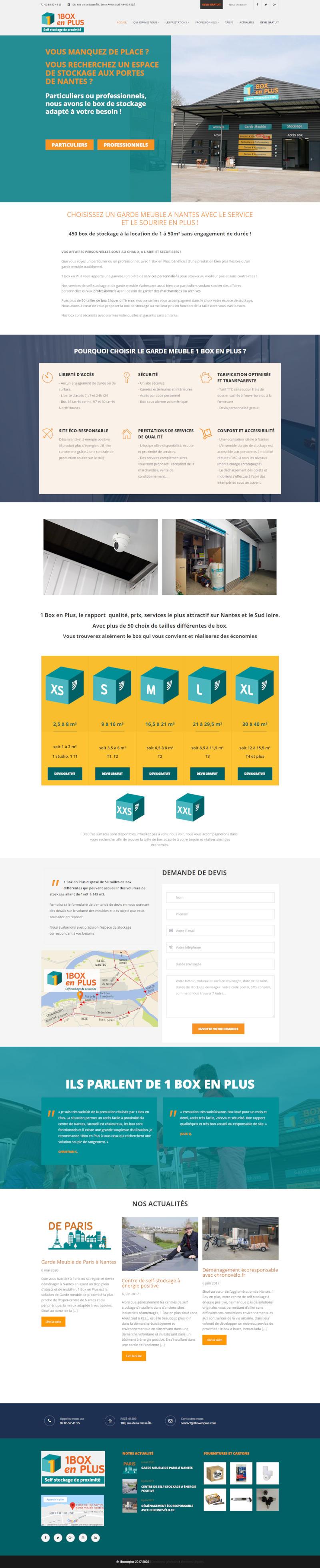 Création de site internet WordPress Rezé
