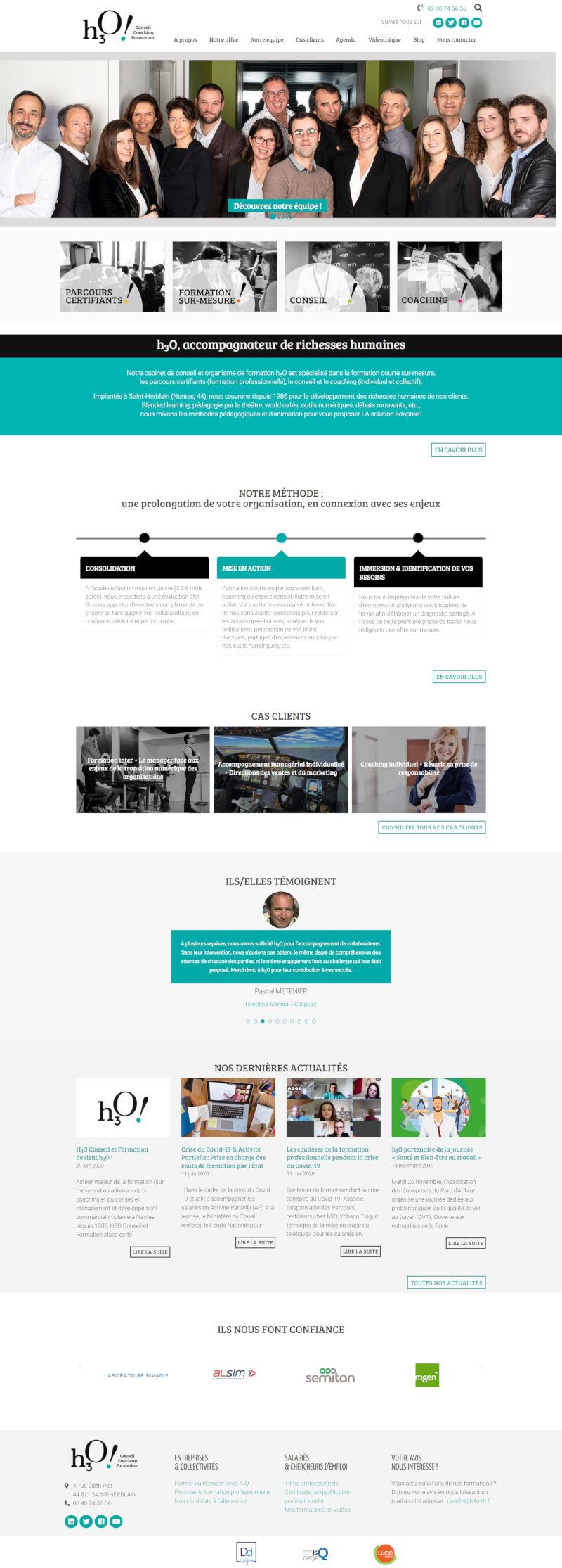 Création de site internet Nantes