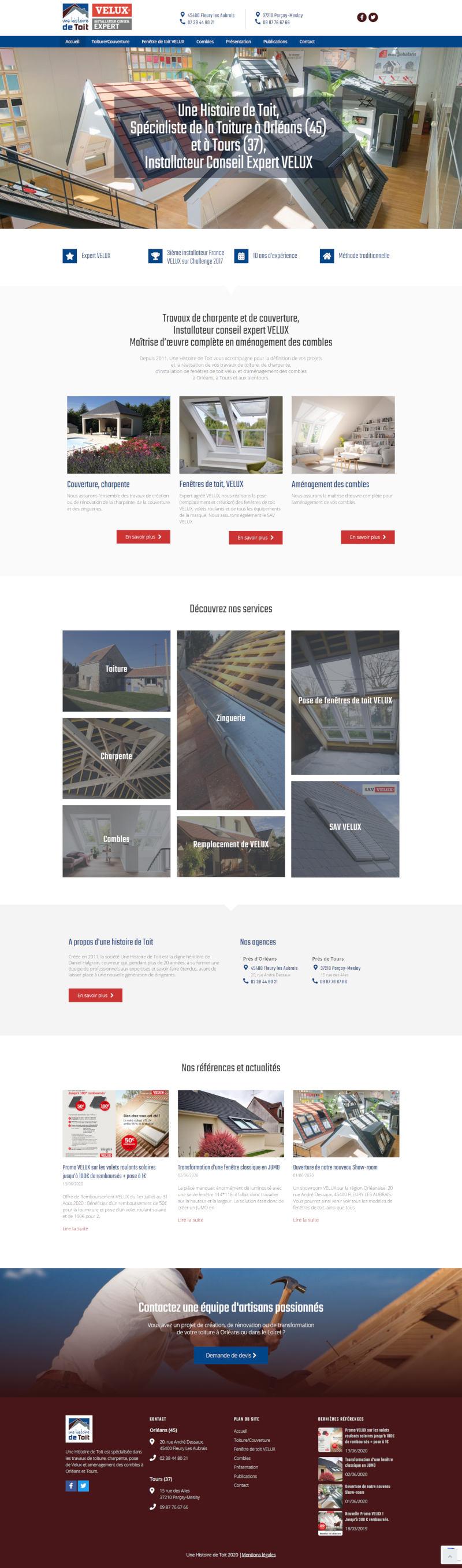 Création de site WordPress Orléans