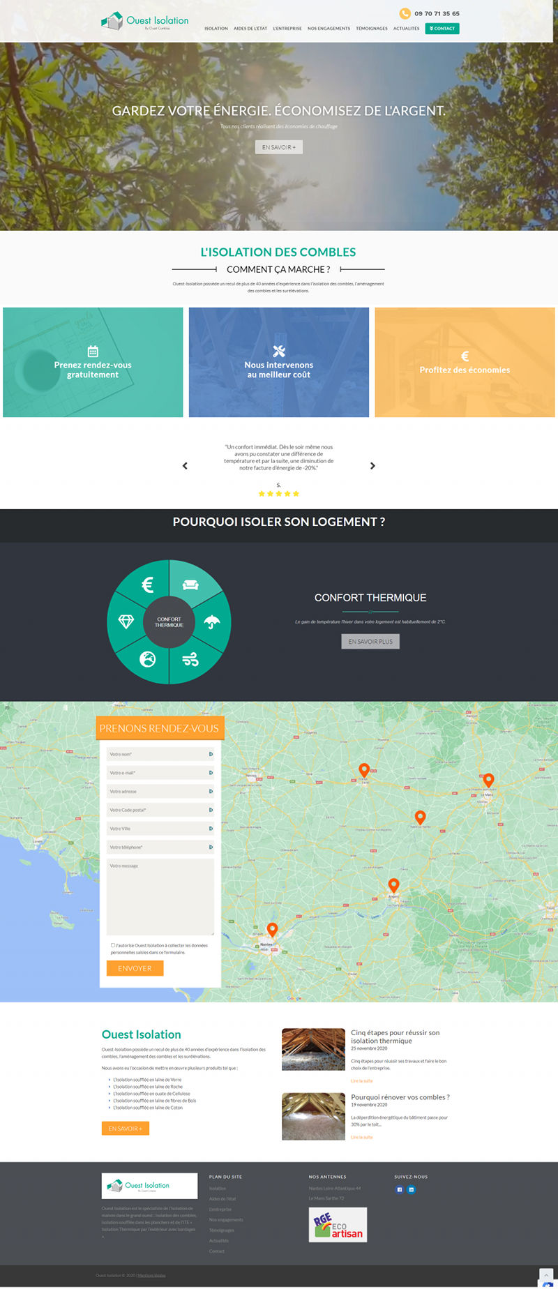 Agence Web Nantes WordPress Ouest Isolation