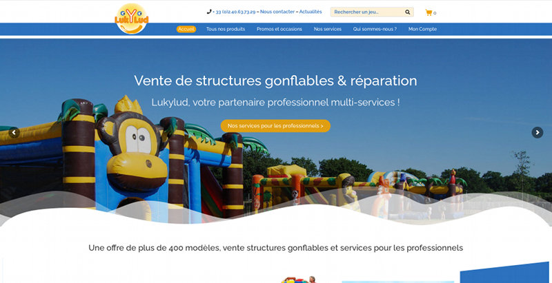 Creation site Internet Nantes Lukylud