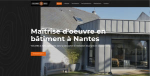 Creation site Internet Nantes Volumes et Bois