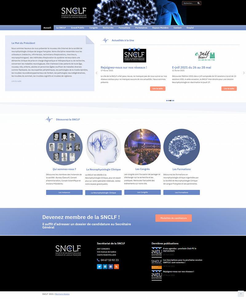 SNCLF Refonte site Internet
