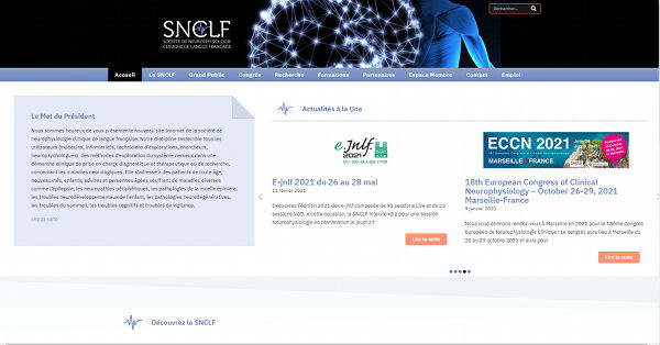SNCLF Site WordPress societe savante