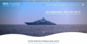 Création site Internet Nantes Seco Yachting