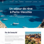 Site internet location appartement Corse